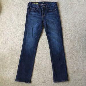 Jcrew matchstick jeans. Size 26s.